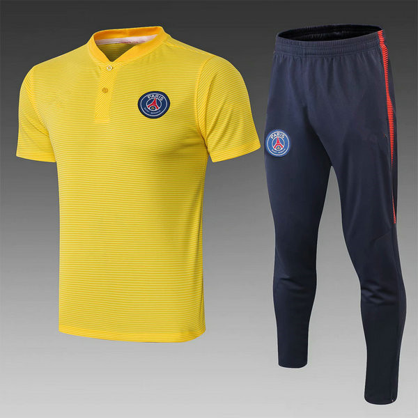 Camiseta polo PSG Amarillo 2019-2020